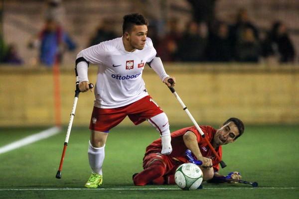 Amp Futbol Polska vs. Hiszpania fot. Piotr Kucza