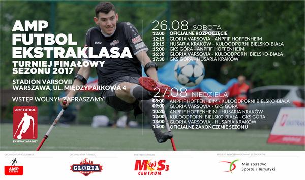 Amp Futbol Ekstraklasa - turniej finałowy 2017
