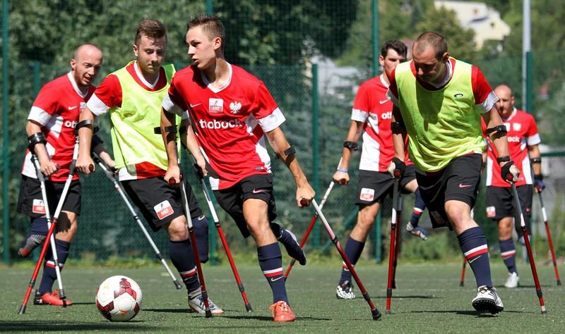 Amp Futbol Polska - trening fot. Bartłomiej Budny