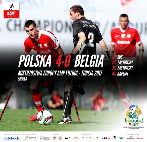 Polska Belgia 4-0 Mistrzostwa Europy Amp Futbol 2017