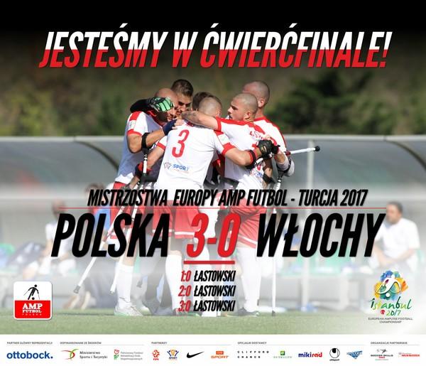 Polska Wlochy 3-0 Mistrzostwa Europy Amp Futbol 2017